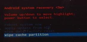 Slet cache på Nexus 7